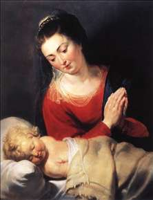 Virgin in Adoration before the Christ Child