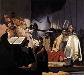 Count Willem III Presides over the Execution of the Dishonest Bailiff in 1336