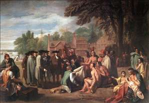 The Treaty of Penn with the Indians.