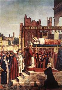 Martyrdom of the Pilgrims and the Funeral of St Ursula