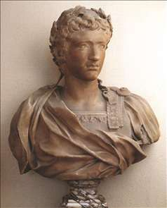 Bust of Young August
