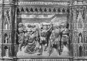 Beheading of St John the Baptist (detail of the altar)