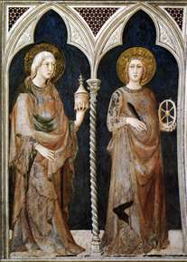 St Mary Magdalen and St Catherine of Alexandria